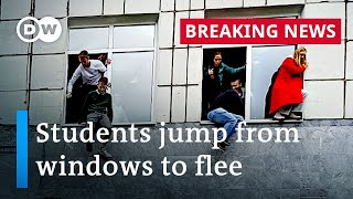 Shooting at Russian university leaves at least eight dead | DW News