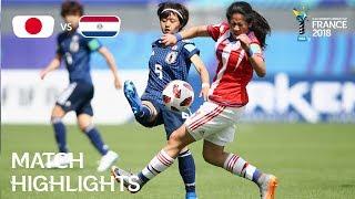 Japan v Paraguay - FIFA U-20 Women's World Cup France 2018 - Match 22