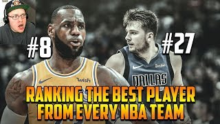Reacting To Ranking The Best Player From All 30 NBA Teams