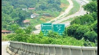 Trên xe từ Hà Nội Lên Sapa qua cao tốc Nội Bài - Lào Cai