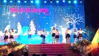Nhảy Vui giáng sinh - vũ đoàn thiên thần