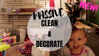 MASSIVE CLEAN & DECORATE WITH ME!