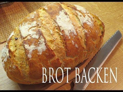 Brot backen [knusprige Kruste, fast wie vom Bäcker]