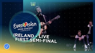 /ryan oshaughnessy together ireland live first semi final eurovision 2018