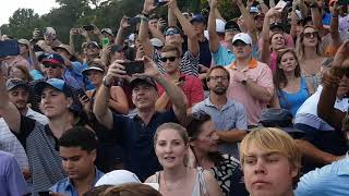 *Fan Footage* 2018 PGA Tour Championship Day 4   East Lake Golf Course   18th Hole Tiger Woods