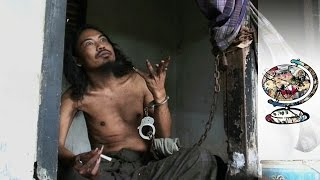 In Bali the Mentally Ill Are Treated Like Animals