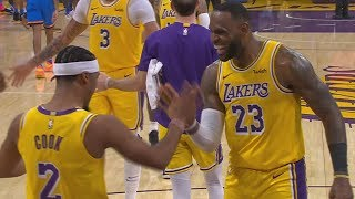 LeBron James Triple Double vs Thunder! 2019-20 NBA Season