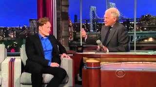 Conan O Brien Interview david Letterman