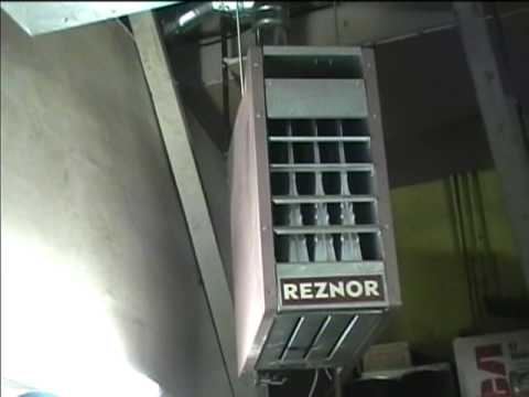 2005 Reznor Gas Fired Unit Heater Youtube