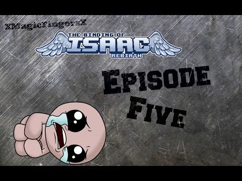 The Binding of Isaac Rebirth Gameplay Part 5 - Mom's Heart