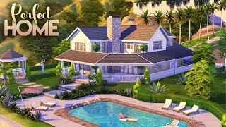 PERFECT FAMILY HOME    4 Bdr + 3 Bth    The Sims 4: Speed Build [NO CC]
