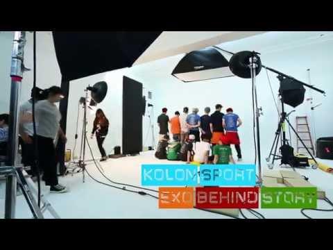 EXO Summer T-shirts Behind Film _ 비하인드 영상