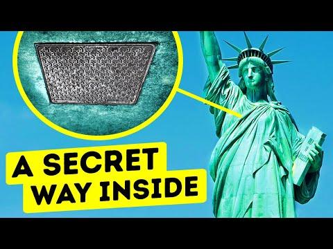 Што се наоѓа во Статуата на слободата и дали можете да влезете внатре?