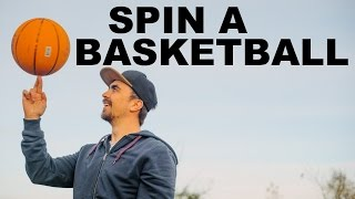 Learn to Spin a Basketball || Learn Quick