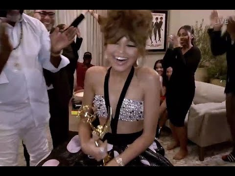72nd Emmy Awards: Zendaya Wins for Outstanding Lead Actress in a Drama Series