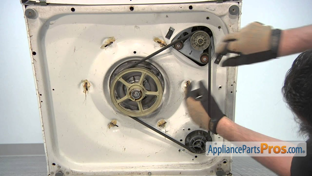 Washer Drive Belt Part 21352320 How To Replace Youtube