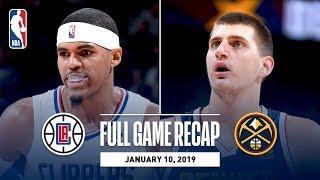Full Game Recap: Clippers vs Nuggets | Nikola Jokic Records 5th Triple-Double Of The Season
