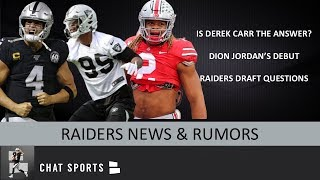 Oakland Raiders Rumors On Derek Carr, Dion Jordan, NFL Free Agency & The 2020 NFL Draft | Mailbag