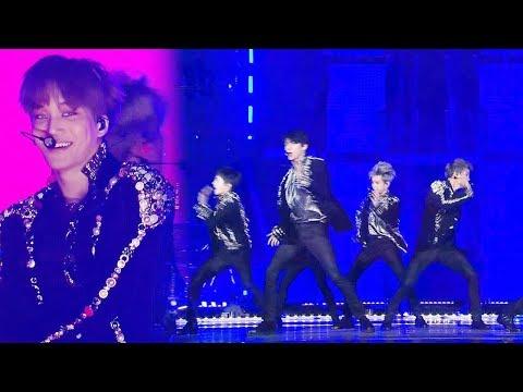EXO, 무대 위 거칠게 폭발하는 남성미 'Run This' @2017 SBS 가요대전 2부 20171225