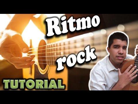 Como tocar rock en guitarra acustica (principiantes)