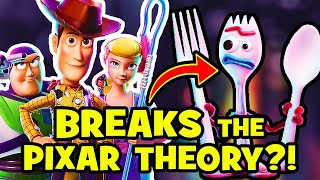 Toy Story 4 DEBUNKS Pixar Theory?! NEW Easter Eggs REVEALED!