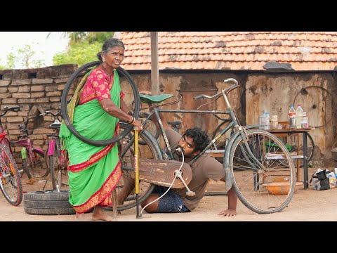 My Village Show: Bigg Boss fame Gangavva turns cycle shop owner