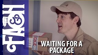 Waiting for a Package - Foil Arms and Hog