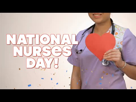 Happy National Nurses Day - May 6, 2021 - From Nightingale til now