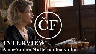 Anne-Sophie Mutter on Stradivarius violins