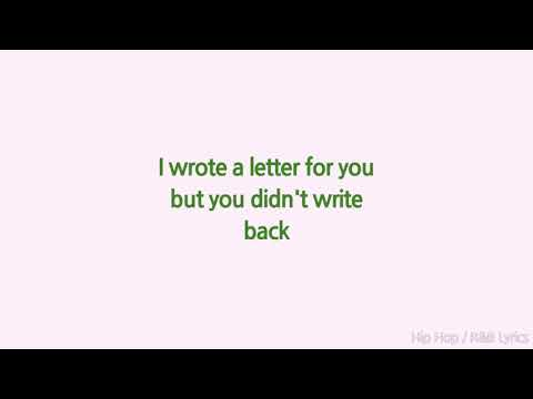 Lil Peep - Love Letter (Lyrics)