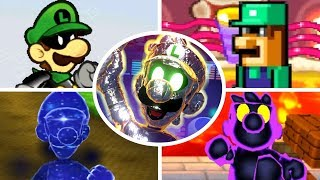Evolution of Dark Luigi Battles (2001-2018)