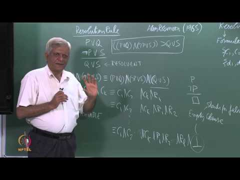Baixar Mod-01 Lec- 44 Resolution Refutation for PL