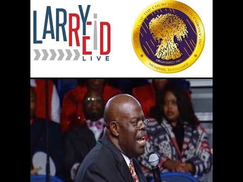 11.12.18 - The COGIC Church: INTERVIEW with Bishop Earl Carter LIVE