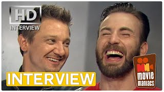Age of Ultron Interview | Who would be your Avenger wingman? (Chris Evans, Scarlett Johansson)