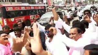 Mynampally Hanumantha Rao, CH Malla Reddy Victory Dance..