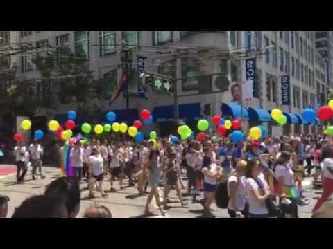 Google Pride for everyone in San Francisco