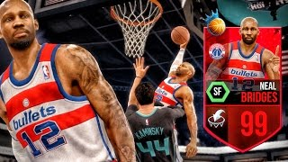 99 NBA RULER NEAL BRIDGES ENDING CAREERS! NBA Live 16 Rising Star Gameplay Ep. 6