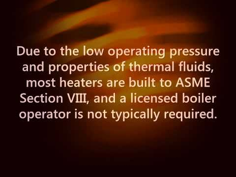 Indirect Heating with Thermal Fluid Heating Systems