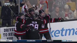 Northeastern vs. Boston University - Beanpot Highlights - 02/12/2018