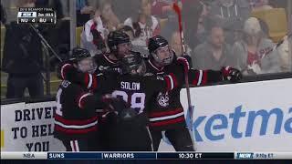 Northeastern vs. Boston University - Beanpot Highlights - 02/12/2018