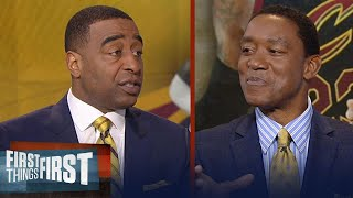Isiah Thomas on LeBron James: 'If I'm him, I go to Golden State' | FIRST THINGS FIRST