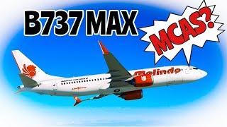 Boeing 737MAX, LionAir Update!! - MCAS?