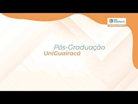 Pós-graduação é na UniGuairacá