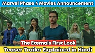 Eternals Teaser Trailer Breakdown In Hindi | The Eternals First Look & Marvel Phase 4 Explained