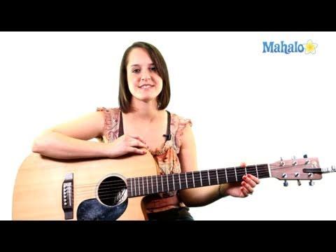 Mahalo Guitar instruction video