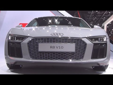 Audi R8 V10 Quattro (2016) Exterior and Interior in 3D