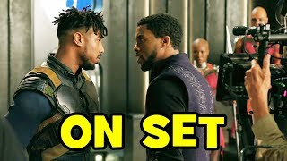 Behind The Scenes on BLACK PANTHER (Movie B-Roll & Bloopers)