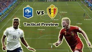 France vs Belgium | Tactical Preview | World Cup Semi Final