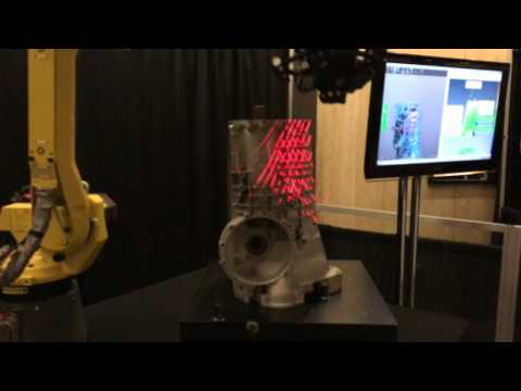 Demonstration of new MetraSCAN-R – Robot mounted 3D Scanner