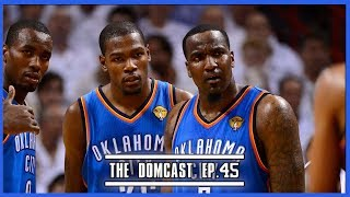 Kendrick Perkins & Kevin Durant Square Off On Twitter - TheDomCast Ep.45